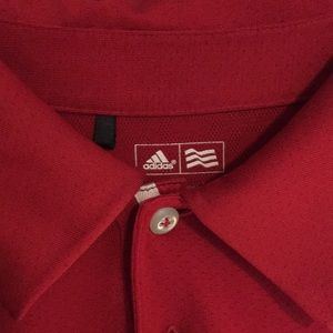 Adidas men's small golf polo